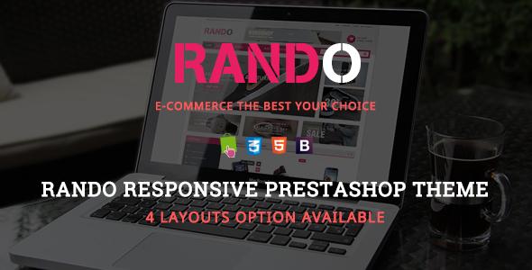Rando – Responsive Prestashop Theme