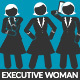 Pictogram Executive Woman Loop Kit - VideoHive Item for Sale