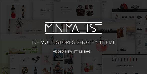 Minimal Premium Responsive Shopify Theme Best For Fashion Clothes Shoes Helmets Apparel T-Shirts