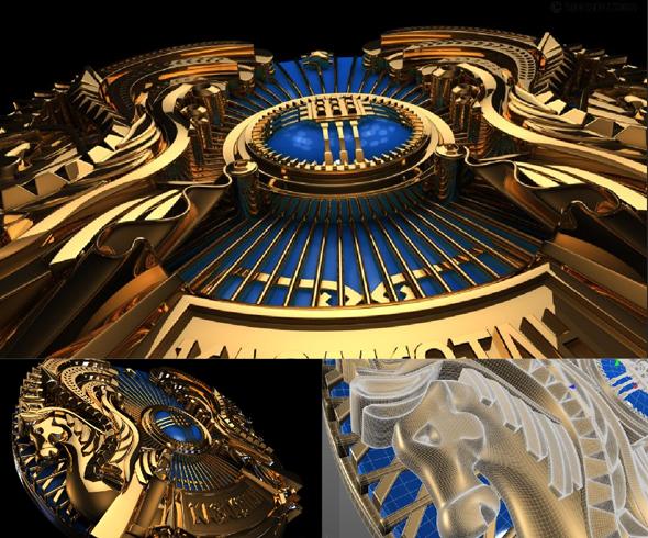 Kazakhstan emblem - 3DOcean Item for Sale