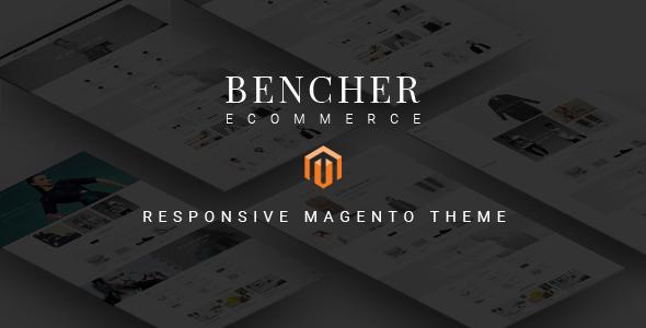 Bencher – Responsive Magento Theme