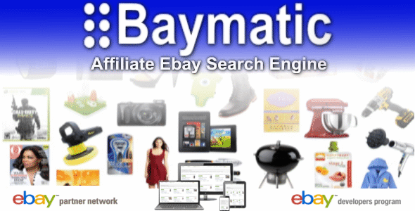 Baymatic Affiliate Ebay Search Engine