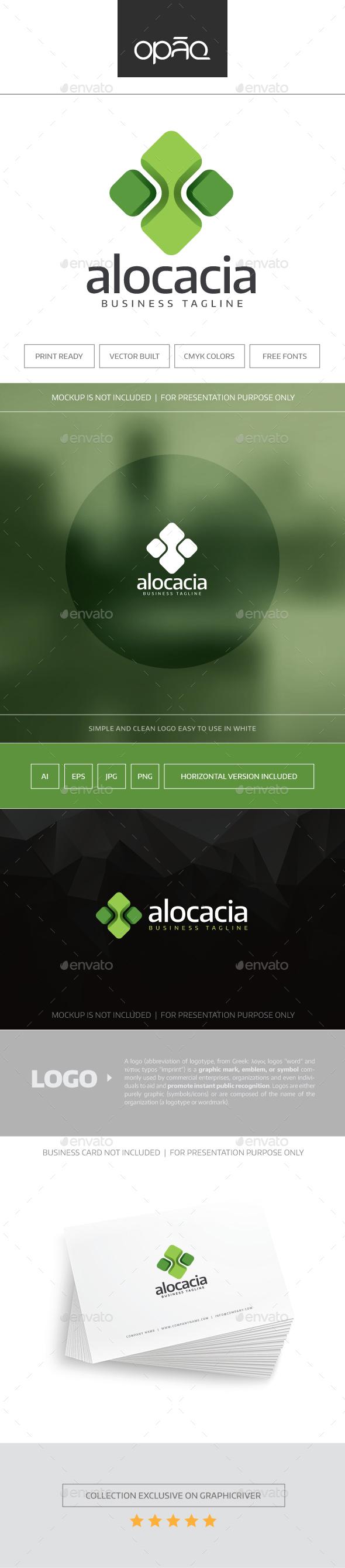 Alocacia Logo - Abstract Logo Templates