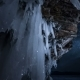Star Sky At Night Through Ice Cave - VideoHive Item for Sale