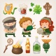 Irish People and Items - GraphicRiver Item for Sale