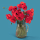 Bouquet #02 - Poppies in a glass jug - VideoHive Item for Sale