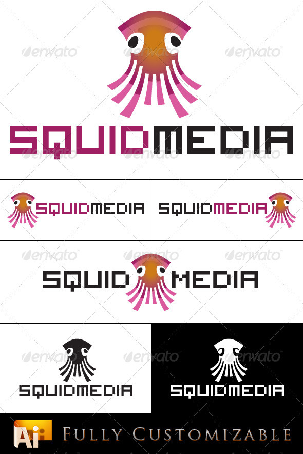 Squid Media - Animals Logo Templates