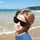 Little Boy With Sunglasses on the Beach - VideoHive Item for Sale