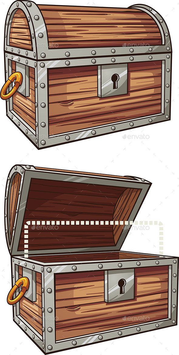 Treasure Chest - Man-made Objects Objects