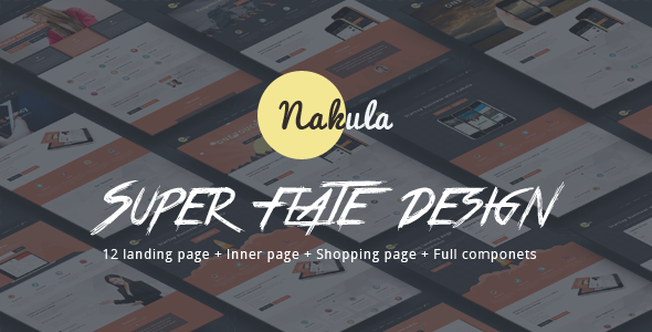 Nakula - Responsive Bootstrap App Landing Page - Apps Technology