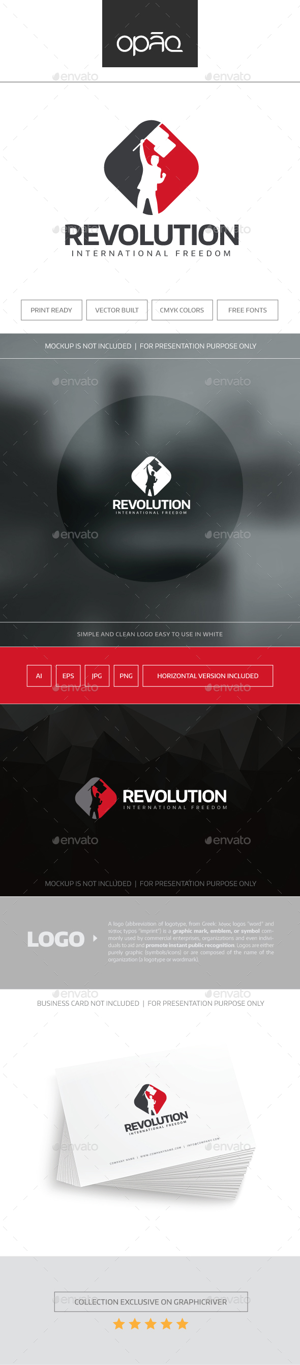 Revolution Logo - Humans Logo Templates