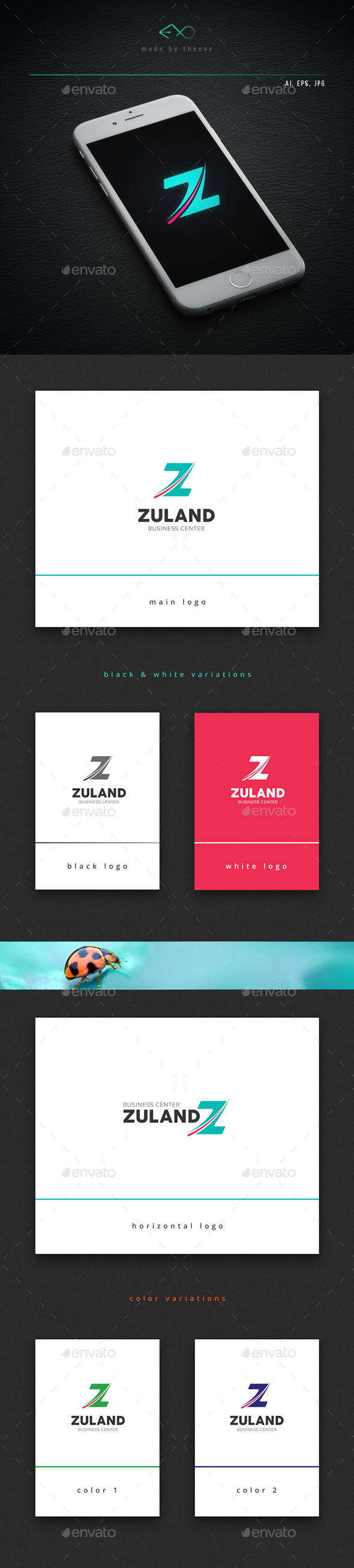 Zuland - Letters Logo Templates