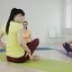 Women Are Talking In Yoga Class - VideoHive Item for Sale