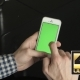 Smartphone  Vertical Green Screen Left Hand - VideoHive Item for Sale