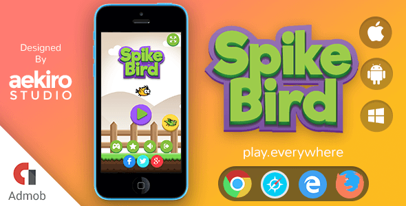 SpikeBird - CodeCanyon Item for Sale