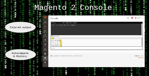 Magento 2 Console - CodeCanyon Item for Sale