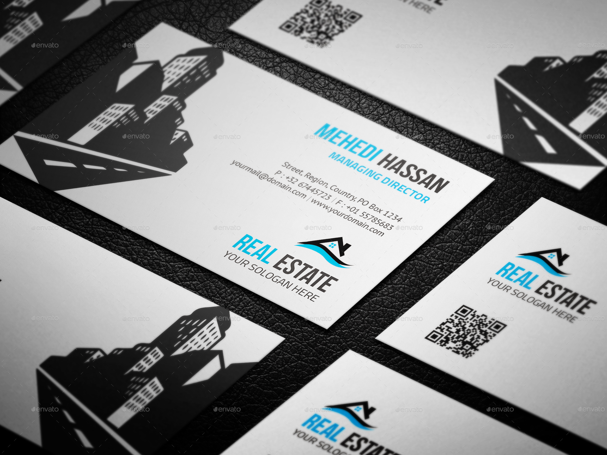 real estate business card bundle by mehedi hassan
