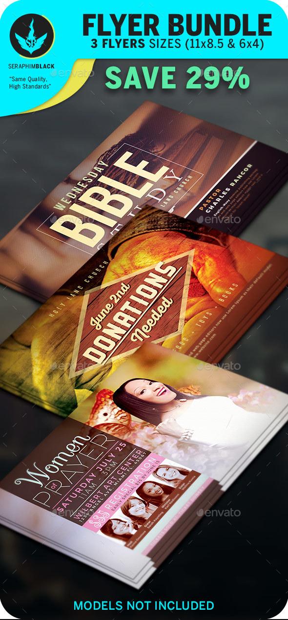 Church Flyer Bundle 5 - Church Flyers