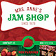 Jam Shop Flyer Template - GraphicRiver Item for Sale
