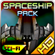 Spaceship Pack 24 - GraphicRiver Item for Sale