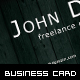 Wooden Business Card Template - GraphicRiver Item for Sale