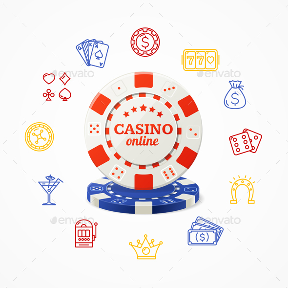 Casino Concept - Miscellaneous Vectors