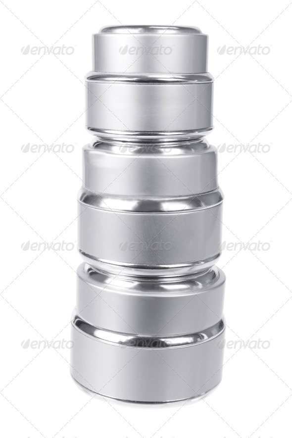 Stack of Face Cream - Stock Photo - Images