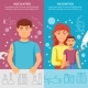 Child And Adult Vaccination Banner Set