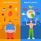Diet Vertical Banners