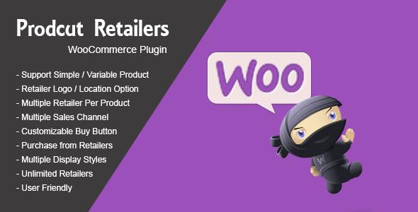 Product Retailers Woocommerce WordPress Plugin