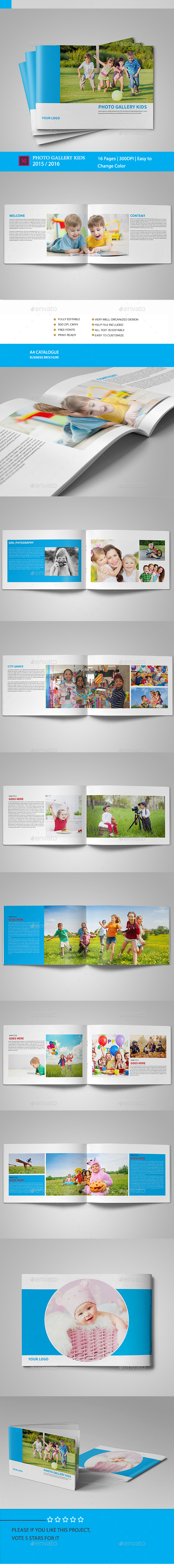 Photo Gallery Children Brochure - Catalogs Brochures