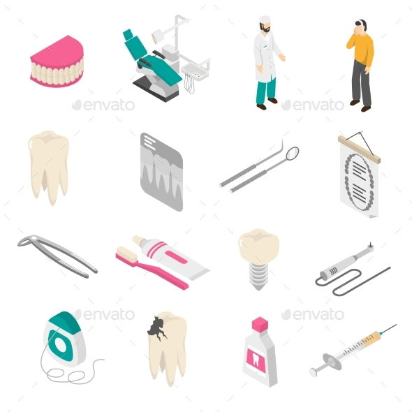 Dental Color Icons - Icons