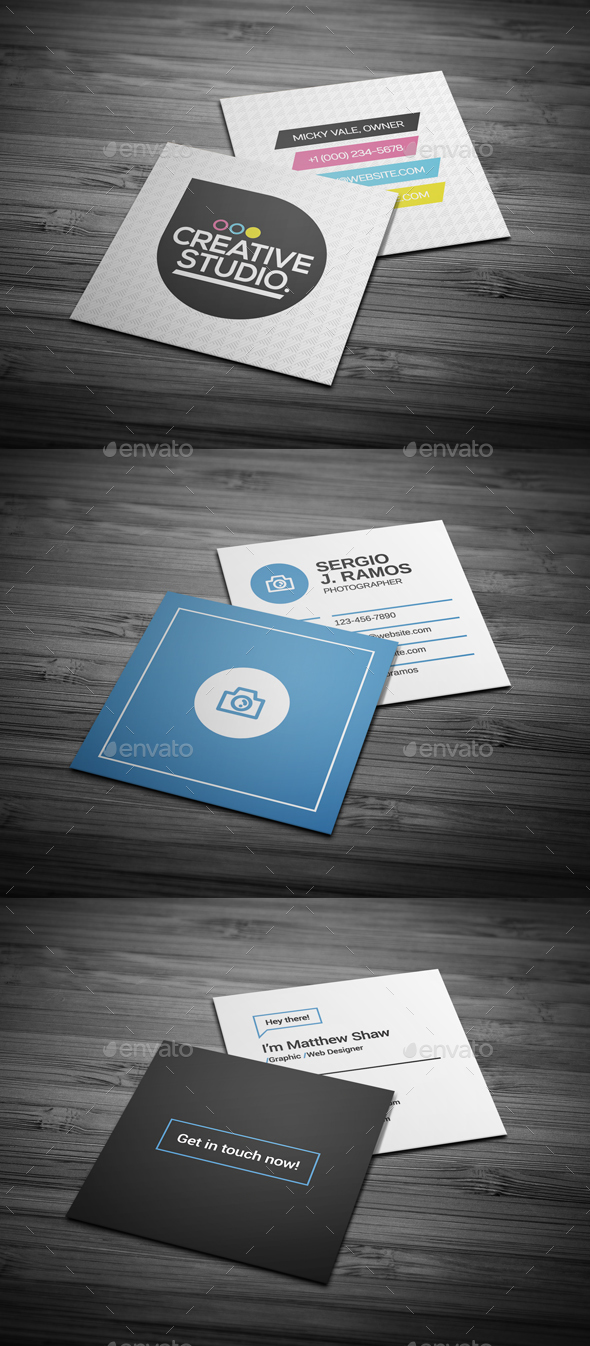 Business Cards Bundle #14 - Business Cards Print Templates