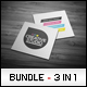 Business Cards Bundle #14 - GraphicRiver Item for Sale