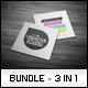 Business Cards Bundle #14 - GraphicRiver Item for Sale