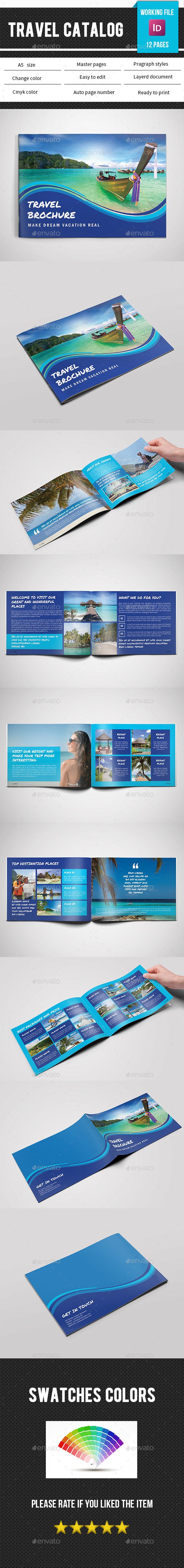 Travel Agency Brochure/Catalog-V194 - Catalogs Brochures