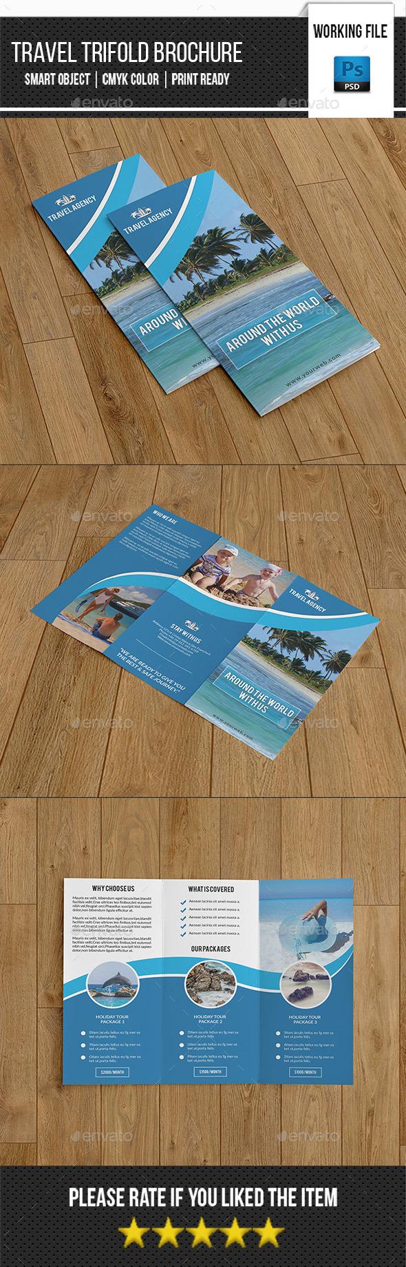 Travel Trifold Brochure-V284 - Corporate Brochures