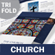 Church Trifold Brochure 3 - GraphicRiver Item for Sale