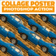 Collage Pop Art Poster Photoshop Action - GraphicRiver Item for Sale