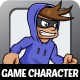 Robber Character Sprites - GraphicRiver Item for Sale