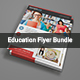 Education Flyer Bundle - GraphicRiver Item for Sale