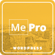 MePro - Creative Portfolio & Multi Purpose WordPress Theme