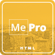 MePro - Creative Personal & Portfolio Template Nulled