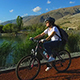 Bike and Lake 5  - VideoHive Item for Sale