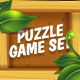 Big Wooden Game Puzzle Set with GUI - GraphicRiver Item for Sale