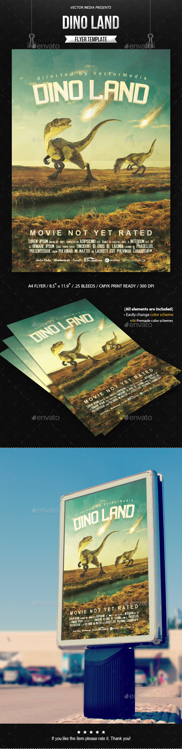 Dino Land - Movie Poster - Miscellaneous Events