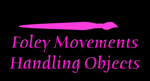 Foley Movements Handling Objects