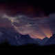 TL Last Rays Behind Teton Mountains - VideoHive Item for Sale