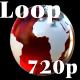 Red globe loop - VideoHive Item for Sale