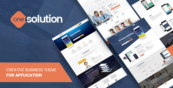 OneSolution – Application Showcase WordPress Theme